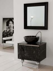 Сантехника altamarea. Мебель для ванной облицовка в мраморе