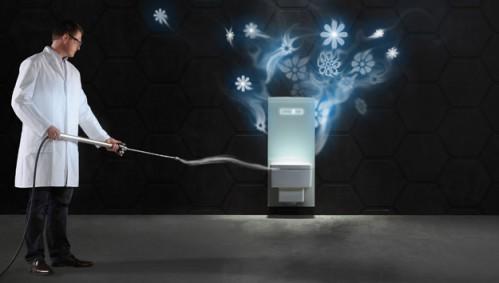 Инсталляция для подвесного унитаза TeceLux с системой фильтрации воздуха